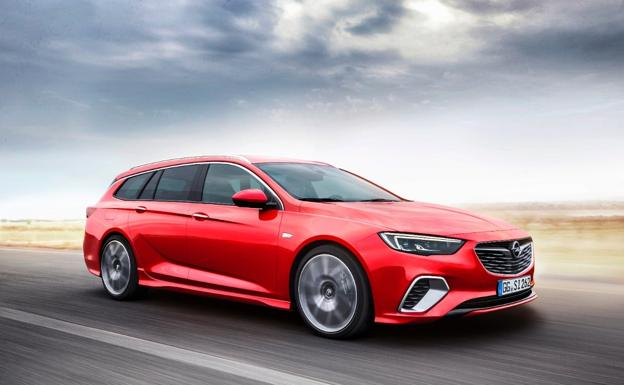 Opel Insignia GSi Sports Tourer, un familiar muy deportivo