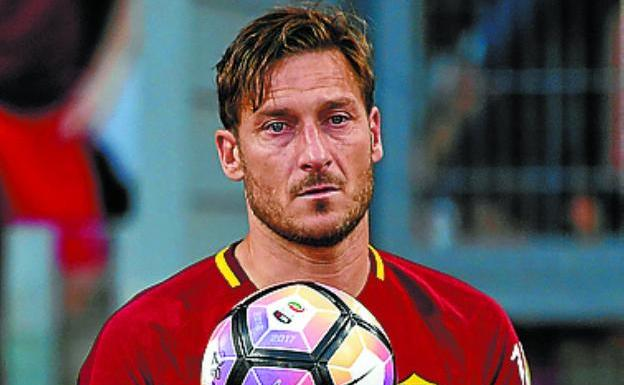 Francesco Totti. / REUTERS