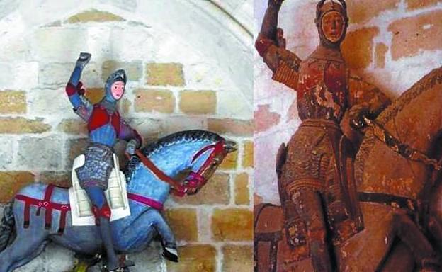 Horrible restauración de escultura es nombrada como el nuevo