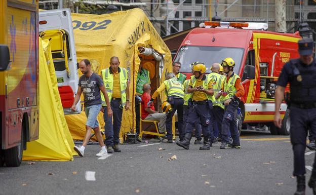Derrumbe en Ritz de Madrid deja al menos un muerto