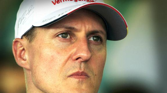 Michael Schumacher. /