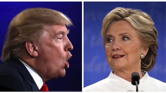 Trump y Hillary son los favoritos para Halloween