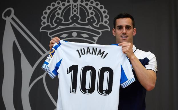 Real Sociedad: Juanmi cumple cien partidos con la Real Sociedad - Real Sociedad - El ...
