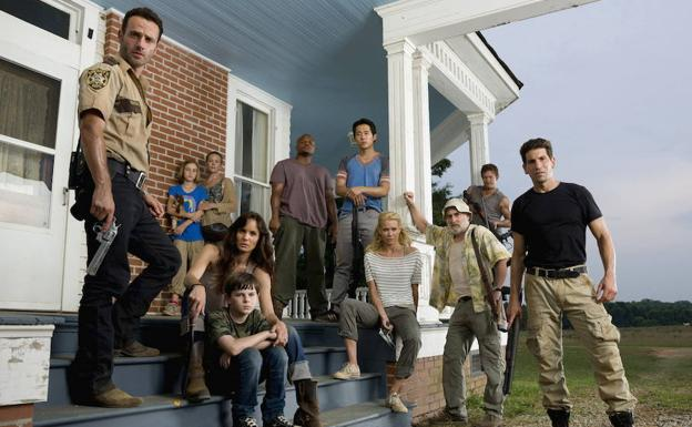 Reparto de 'The Walking Dead'. /Gene Page (Ap)