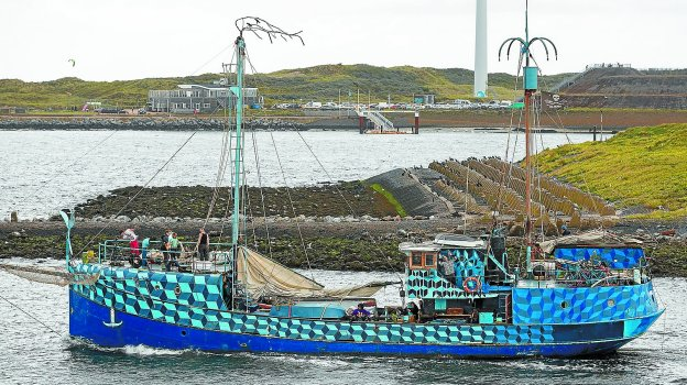 En marcha. La tripulación de 'El Barco de los Locos' ha hecho pública esta imagen en la que muestran cómo han iniciado ya su singladura.