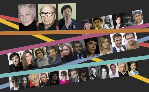 Resultado de imagen de famosos festival de cine san sebastian 2018