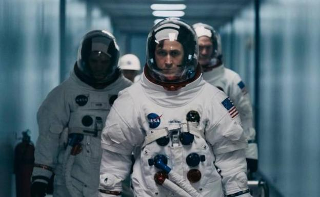 'First man' filmeko irudia.
