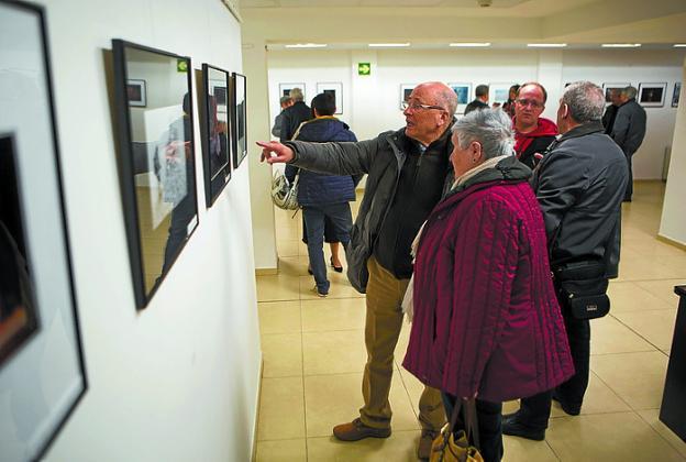 Laboral Kutxa. La exposición se inauguró el miércoles. /  F. DE LA HERA