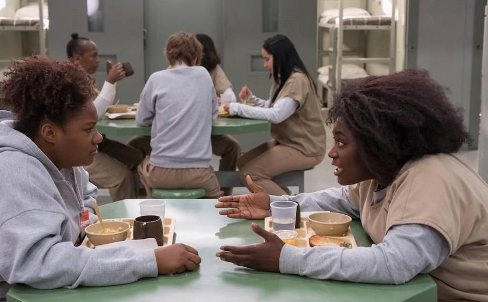 Un fotograma de 'Orange is the New Black'./