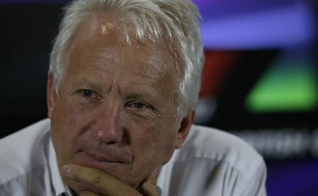 Charlie Whiting. /AFP