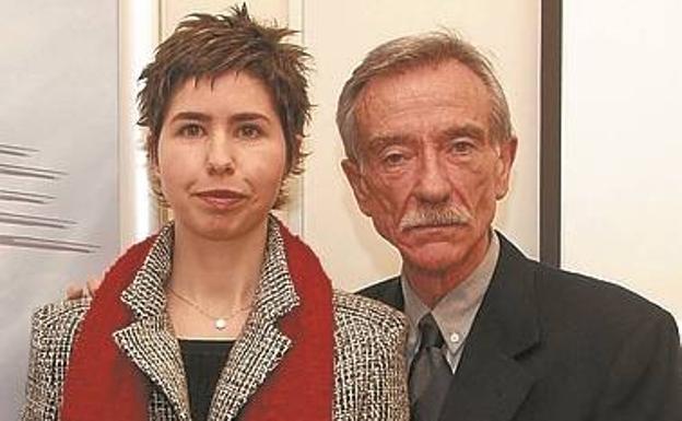 Marina Pintos y Ricardo Requejo./