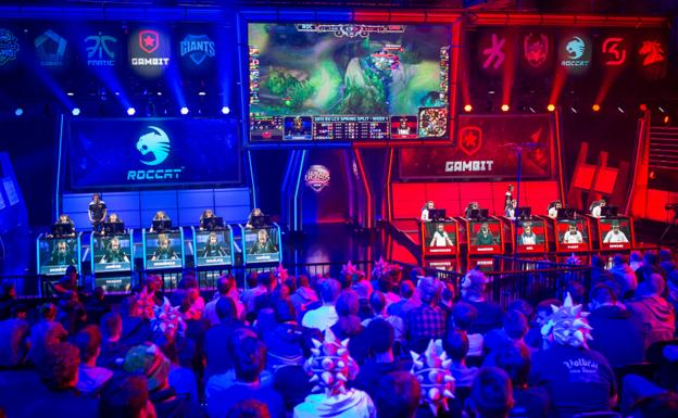 El Palacio Vistalegre de Madrid será la sede del mundial de 'League of Legends'./RIOT