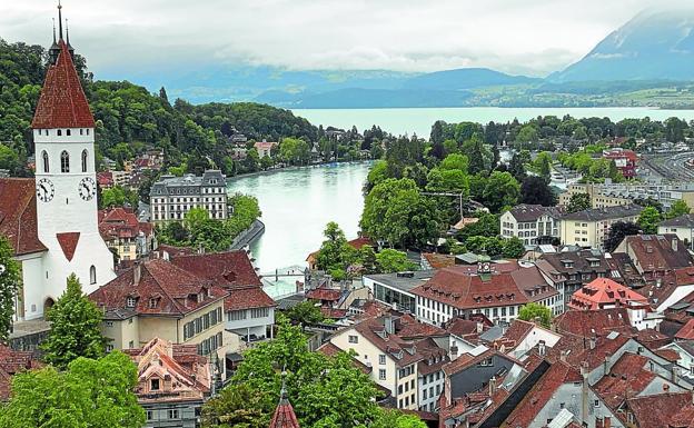 Gran Ruta Suiza, 1.600 km. de belleza natural   El Diario Vasco