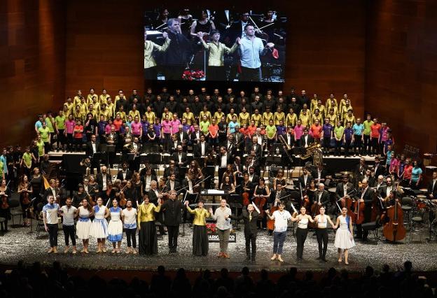 El Concierto de Navidad de El Diario Vasco en el Kursaal será a beneficio de Aspanogi