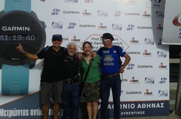 Cuatro veteranos atletas han completado la maratón de Atenas - Diario Vasco