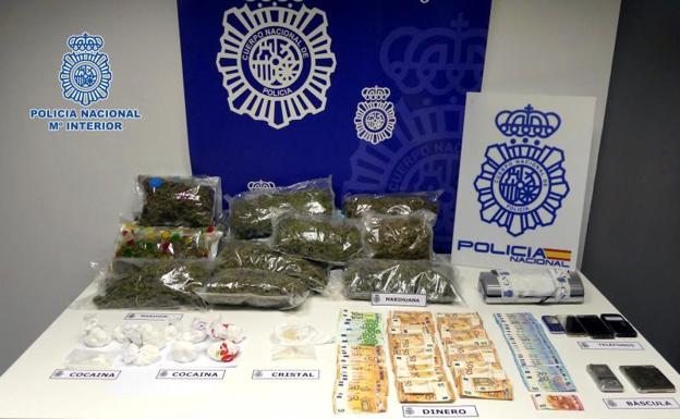 Fotografía facilitada por la Policía Nacional./