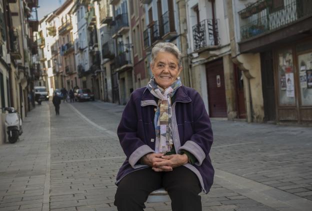 Lourdes Rodríguez Elvira emigró a Irun desde Salamanca. / BOSTOK