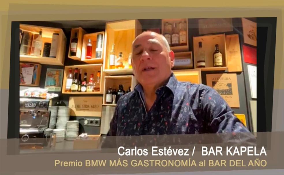 El Capella de San Sebastián, Premio BMW Plus de Gastronomía al Mejor Bar del Año