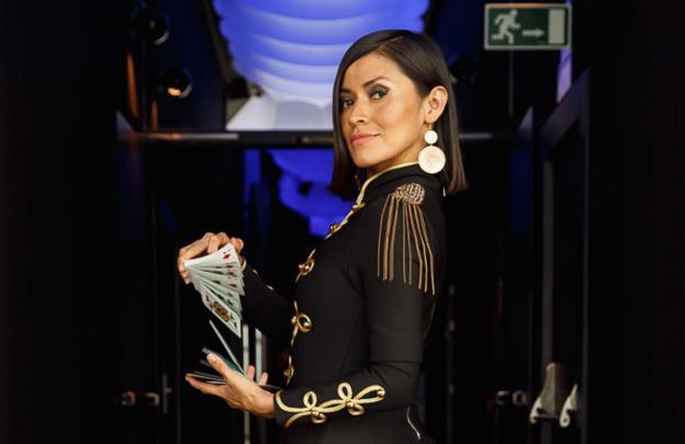 Maga Gisell, finalista del programa televisivo 'Pura Magia', se ha consagrado como una gran ilusionista./