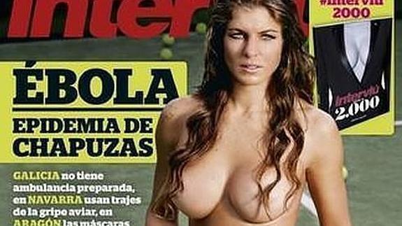 Interviú Desnuda A La Argentina Celeste Paz Campeona De Pádel El