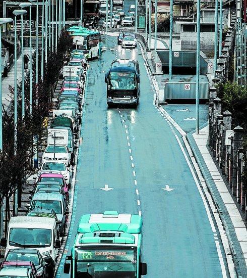 El Conflicto Se Ha Planteado En Paseo De Garcia Lorca Salida Los Buses
